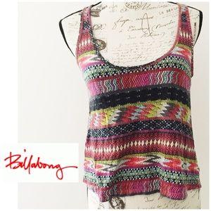 Billabong Multicolor Summer Crop Top